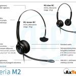 słuchawki axtel-m2 seria